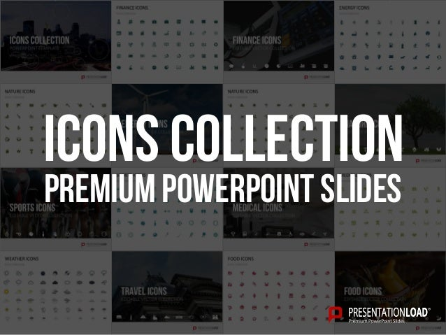 PREMIUM POWERPOINT SLIDES Icons Collection