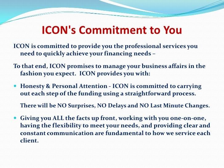 non purpose loan Icon Securities Lending