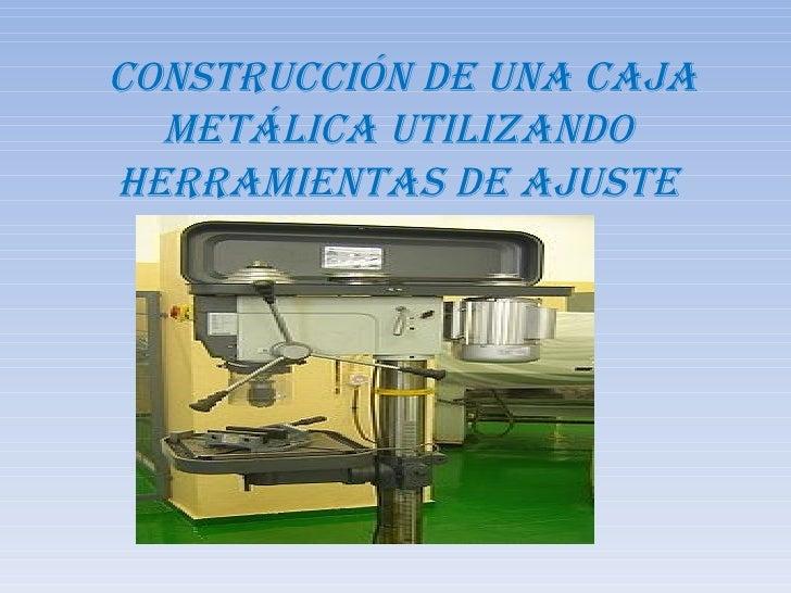 Construccion de una caja metalica - Caja de herramientas metalica ...