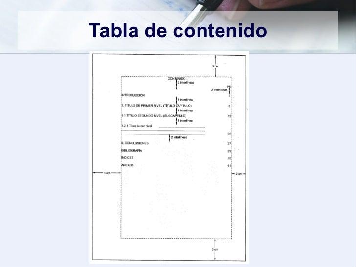 Normas ICONTEC para trabajos escritos - photo#45