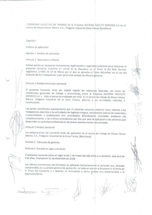 Convenio Colectivo Acciona Fs 2016-2018 Usoc Acciona