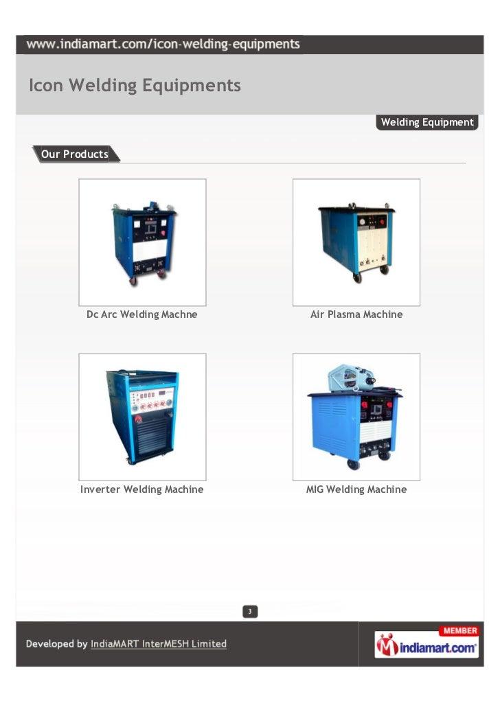 Icon Welding Equipments, Vadodara,  Welding Equipment Slide 3