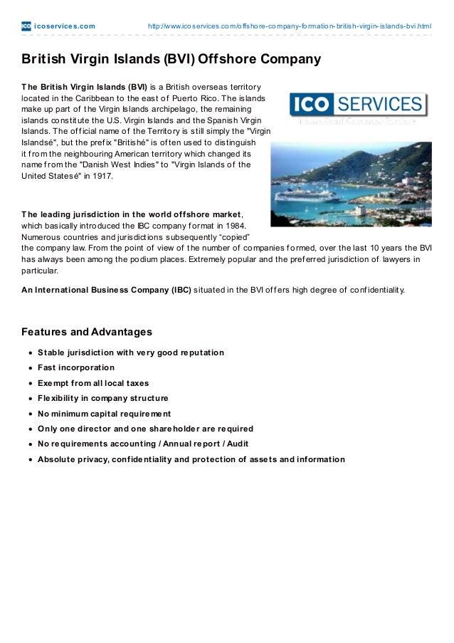 British Virgin Islands Corporation Formation