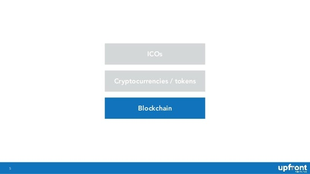 !5 ICOs Cryptocurrencies / tokens Blockchain