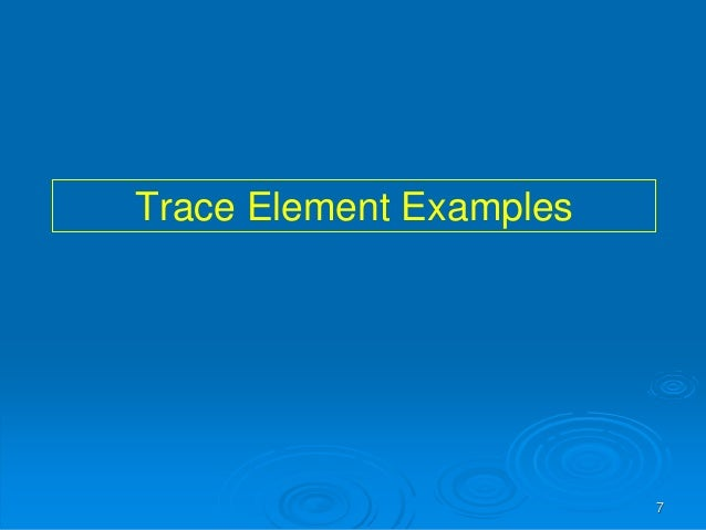 Trace Elements In Clinical Science