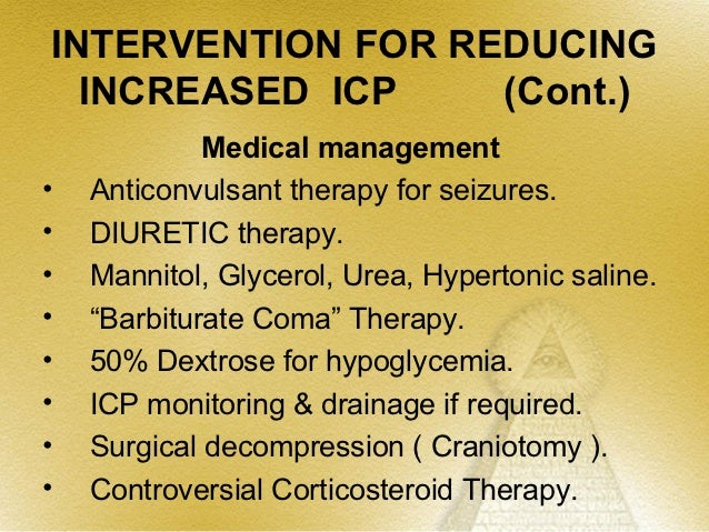 Summary• I.C.P. is an important parameter• Physiology• Pathology related to increased ICP• Monitoring of ICP• Interaction ...