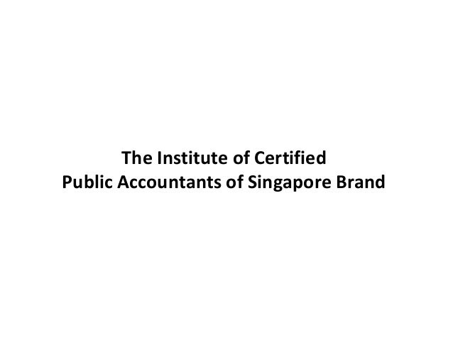The Institute of Certified Public Accountants of Singapore Brand