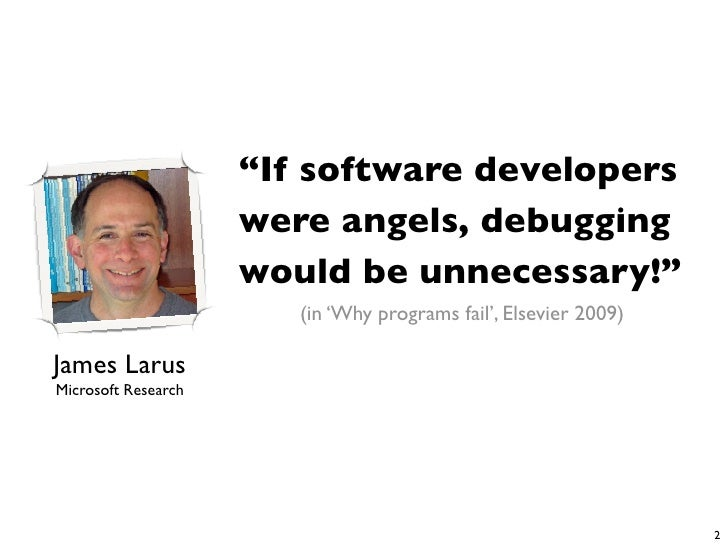 Studying the impact of Social Structures on Software Quality Slide 2