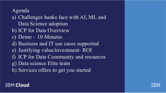 ICP for Data- Enterprise platform for AI, ML and Data Science