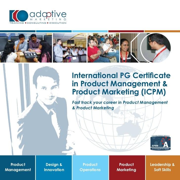 asia's first pg certification program icpm brochure