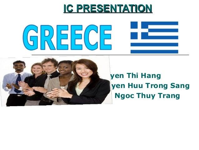 IC PRESENTATIONIC PRESENTATION Conducted by: Nguyen Thi Hang Nguyen Huu Trong Sang Thai Ngoc Thuy Trang