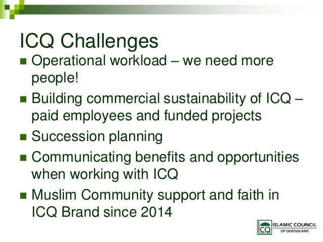 Islamic Council of QLD 2015-16 AGM Slides