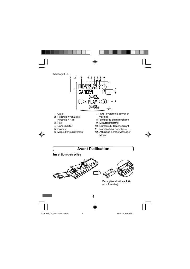 Affichage LCD           1. Carte                        7. VAS (système à activation           2. Répétition/Aléatoire/   ...