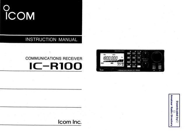 ic r100 user manual rh slideshare net 1977 BMW R100S Mazda R100