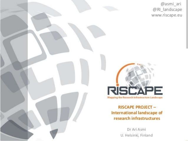 """The RISCAPE projecthas received funding from the European Union's Horizon 2020 research and innovation programme under gr..."