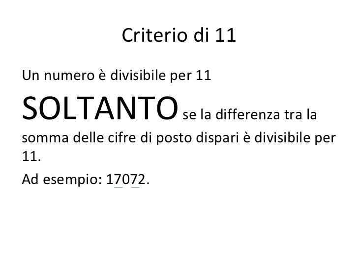 new product 5b27d 0de94 I criteri di divisibilità (quello giusto)