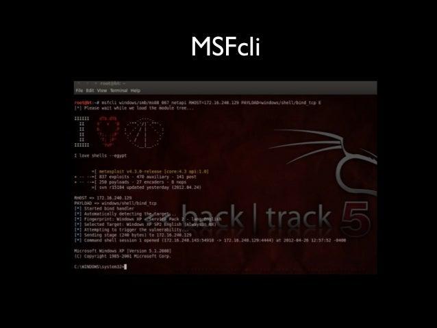 MSFcli