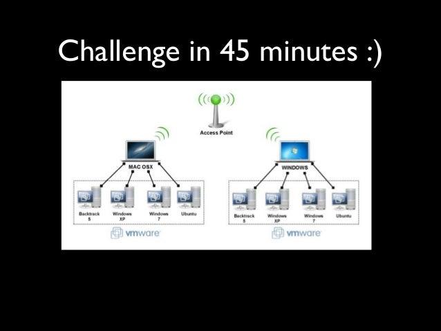Challenge in 45 minutes :)