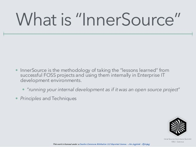 InnerSource 101 and The Apache Way Slide 3