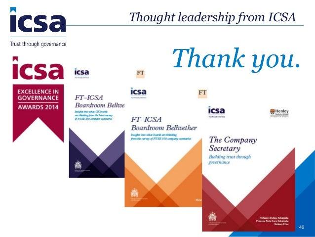 Study for icsa