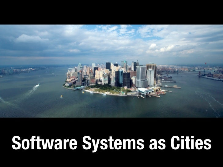 Software Systems as Cities: a Controlled Experiment Slide 2