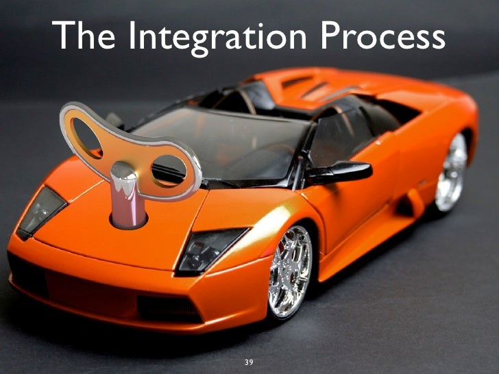 The Integration Process           39