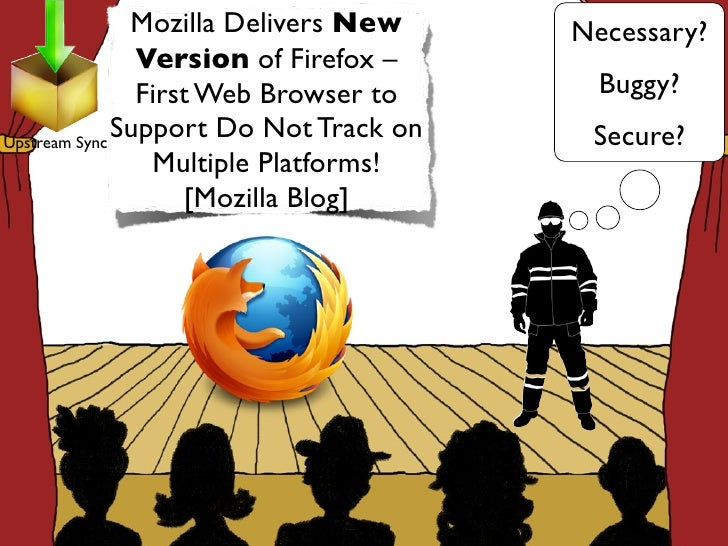Mozilla Delivers New     Necessary?                Version of Firefox –                First Web Browser to      Buggy?Ups...