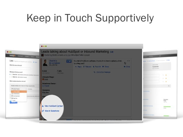 Keep in Touch Supportively