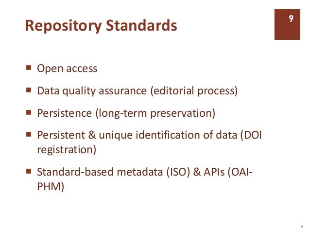Data Standards & Best Practices for the Stratigraphic Record