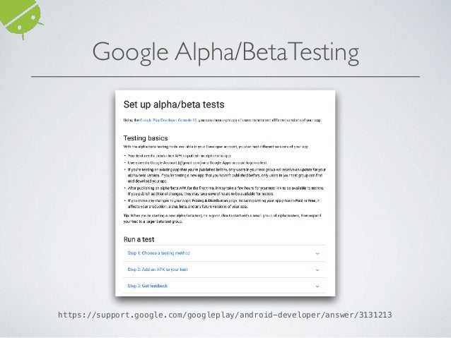Automated GUI-Testing of Android Apps: From Research to Practice