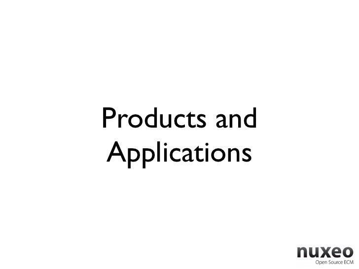 Products andApplications