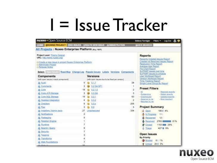 I = Issue Tracker