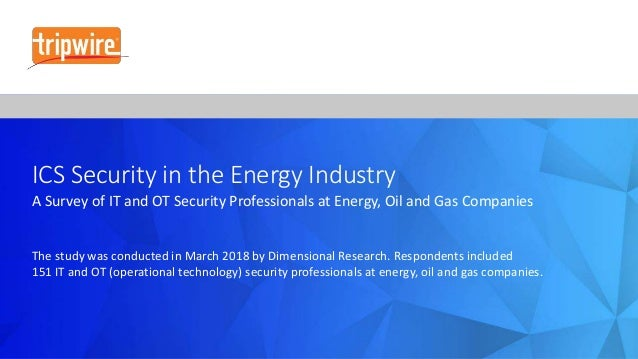ICS Security in the Energy Industry