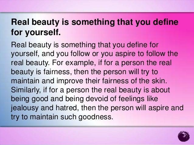 True beauty essay
