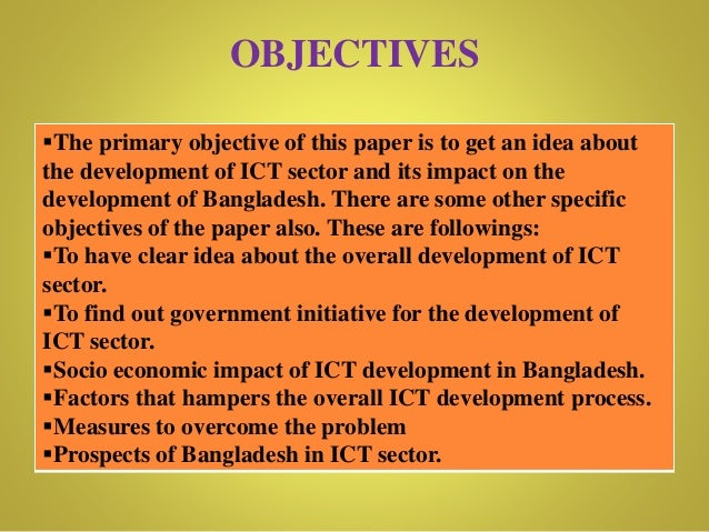 ict in bangladesh Department of management studies presentation:- introduction to computer  name of the group:- acme topic:- roles of ict in digital.