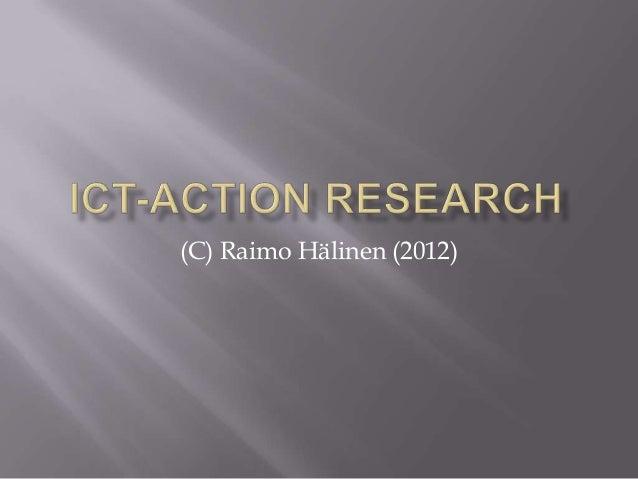 (C) Raimo Hälinen (2012)