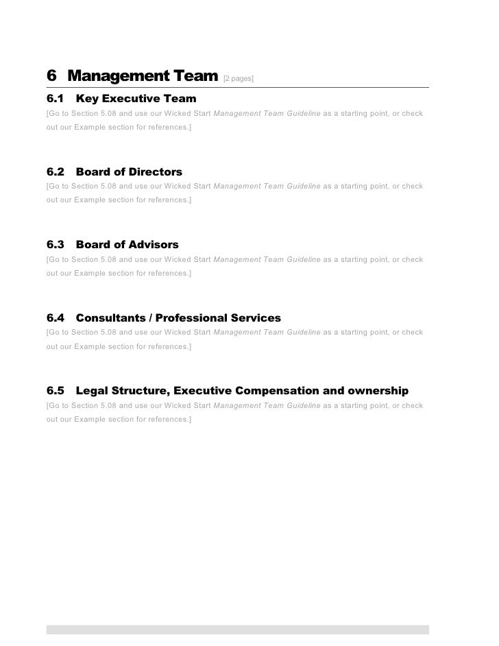 ICT Business Plan Template - Professional business plan template