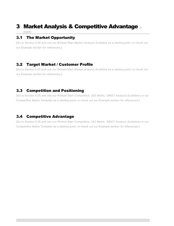 ICT Business Plan Template - Pages business plan template