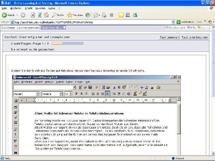 Neue Entwicklungen   ICT-Standards