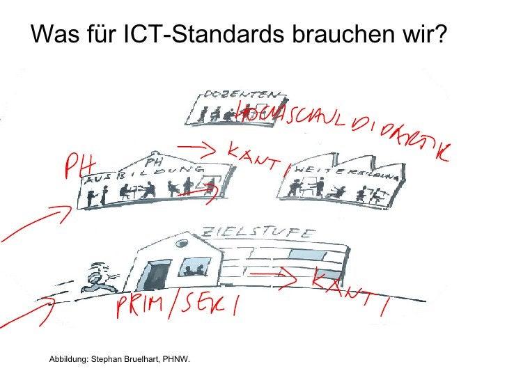 Was für ICT-Standards brauchen wir?      Abbildung: Stephan Bruelhart, PHNW.