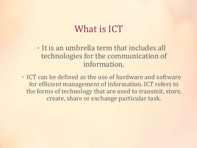 importance of ict in education sector