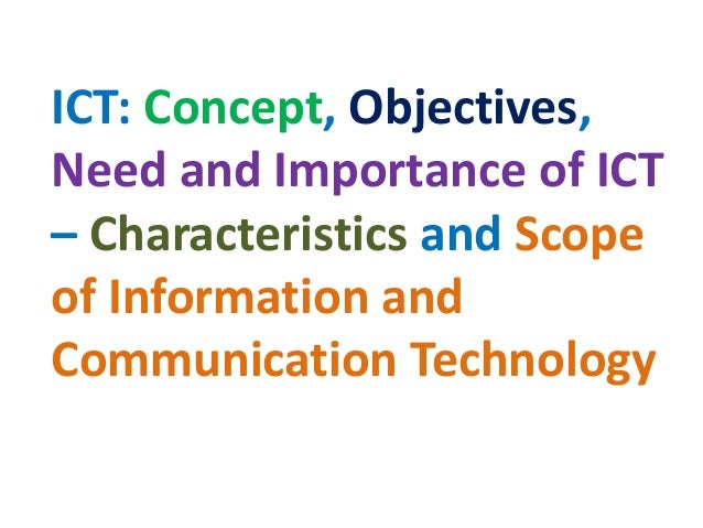 information and communication technology education essay A bachelor of information technology (abbreviations  and communication of information between computers, mobile phones, and other electronic devices.