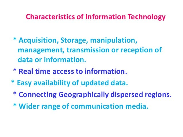 information technology education Information technology  and standards infrastructure for emerging information technologies and  education and training for the.
