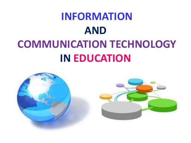 information and communication technology pdf