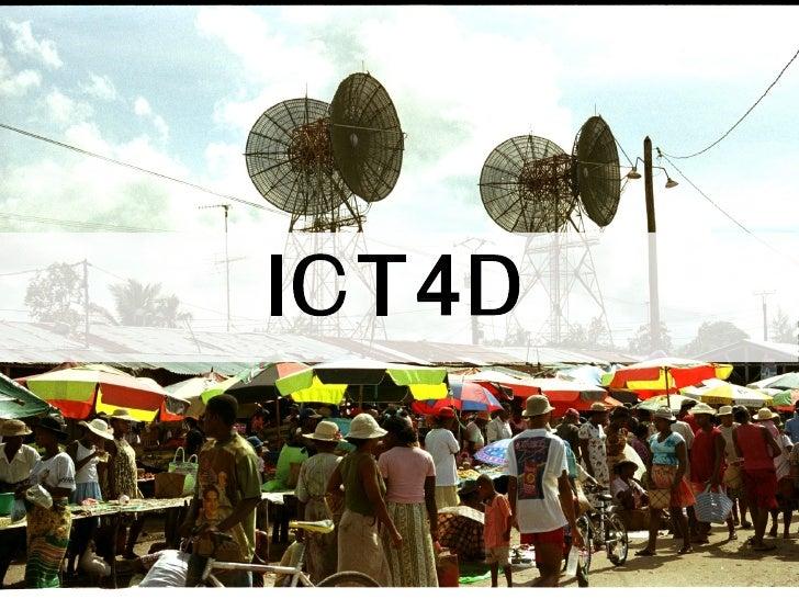 ICT4D