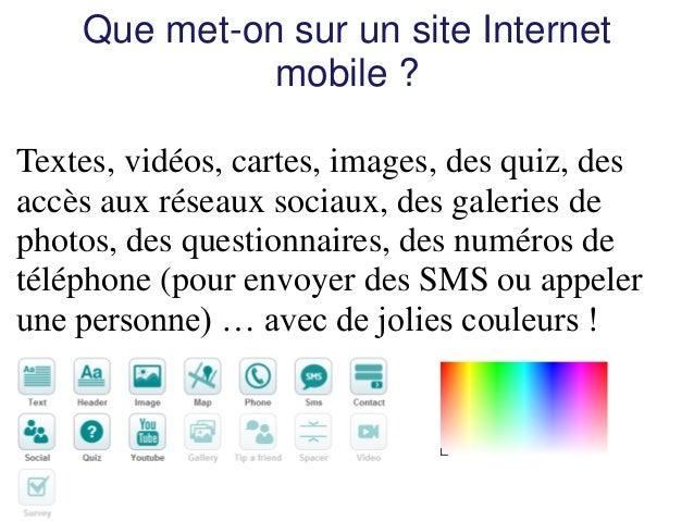 Utilisation de http://madmaker.com/buildmysitepour réaliser un site Internet mobile