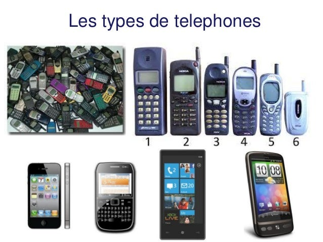 Les types de telephones