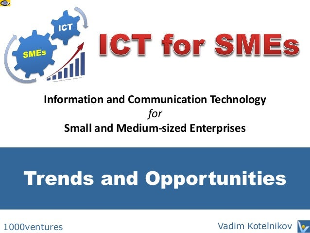 The Benefits of ICT Adoption: An Empirical Study of Nigerian SMEs