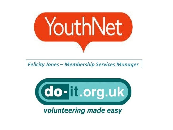 Felicity Jones – Membership Services Manager