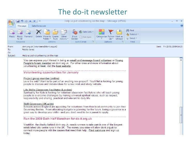 The do-it newsletter